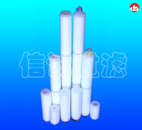 Pleated PP Micro porous Filter Cartridge